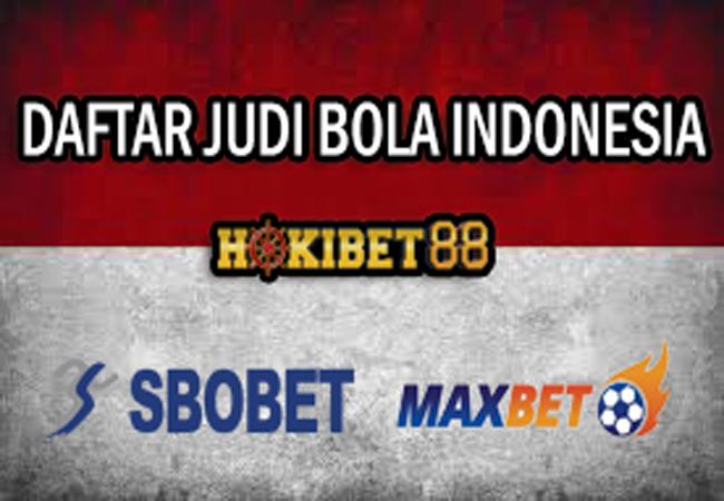 DAFTAR JUDI BOLA INDONESIA